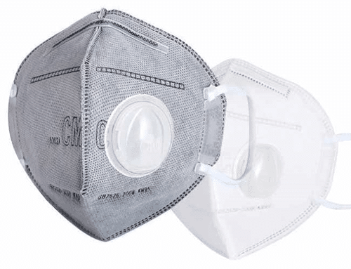 N95 respirator mask for immunocompromised people and their caregivers.