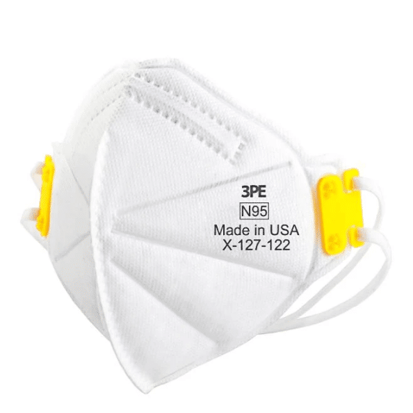N95 masks for sale from 3 PE.