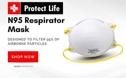 N95 mask for sale at Protect Life.